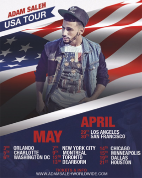 Official USA Tour Poster