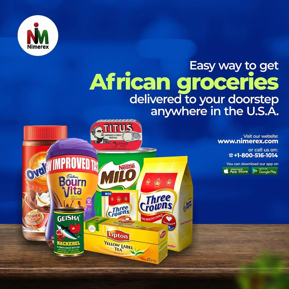 African food and grocery online